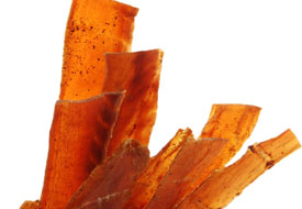 Plain Salmon Jerky 4oz