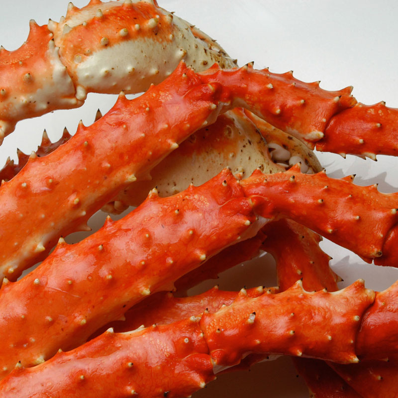 King Crab Cooked Cooked King Crab Legs 4lbs